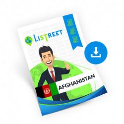Afghanistan, Region list, best file