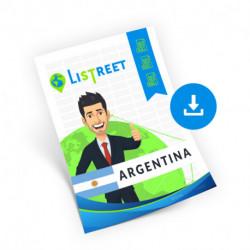 Argentina, Region list, best file