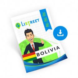 Bolivia, Region list, best file
