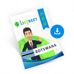 Botswana, Region list, best file