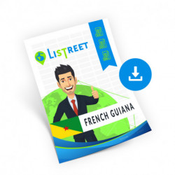 French Guiana, Region list, best file