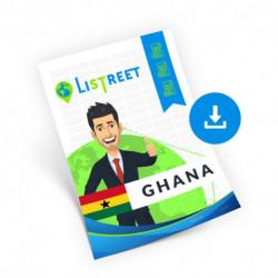 Ghana, Region list, best file