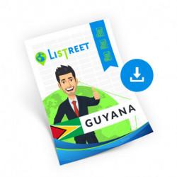 Guyana, Region list, best file