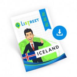 Iceland, Region list, best file