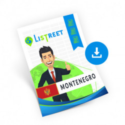 Montenegro, Region list, best file