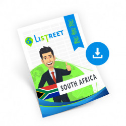 South Africa, Region list, best file
