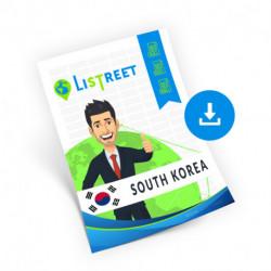 South Korea, Region list, best file