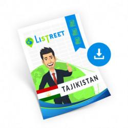 Tajikistan, Region list, best file