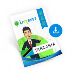 Tanzania, Region list, best file