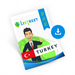 Turkey, Region list, best file
