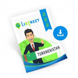 Turkmenistan, Region list, best file