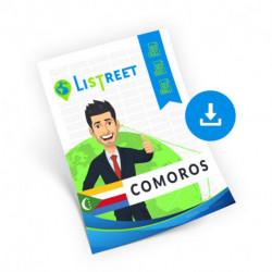 Comoros, Location database, best file