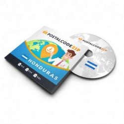 Postcode Netherlands, postal code database