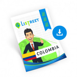 Colombia, Complete list, best file