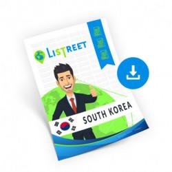 South Korea, Complete list, best file