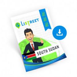 South Sudan, Complete list, best file