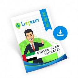 United Arab Emirates, Complete list, best file