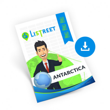 Antarctica Complete, the best file of streets